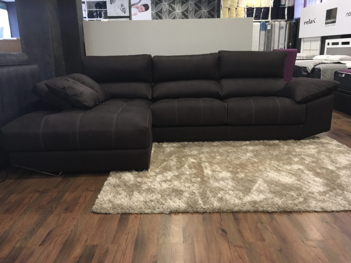 SOFÁ 3 PLAZAS CON CHAISELONGUE
